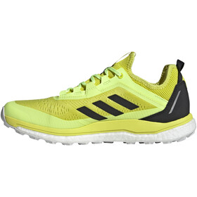 adidas TERREX Agravic Flow Trail Running Shoes Men, acid yellow/core black/hi-res yellow